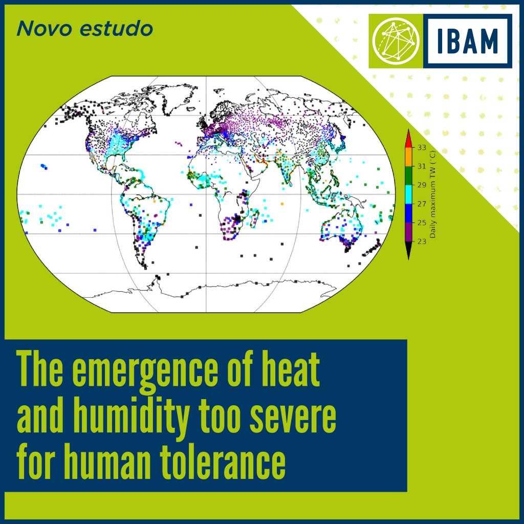 The emergence of heat and humidity too severe for human tolerance - IBAM